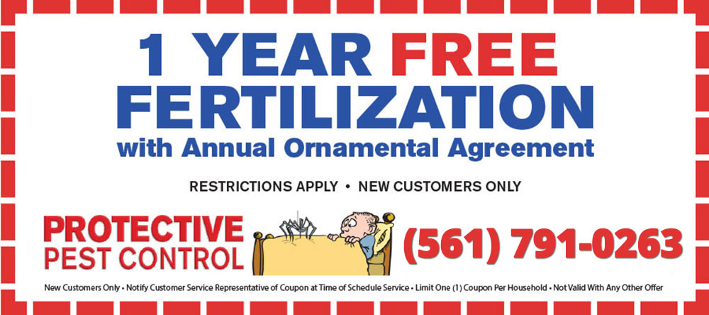 Free Fertilization with Ornamental Service