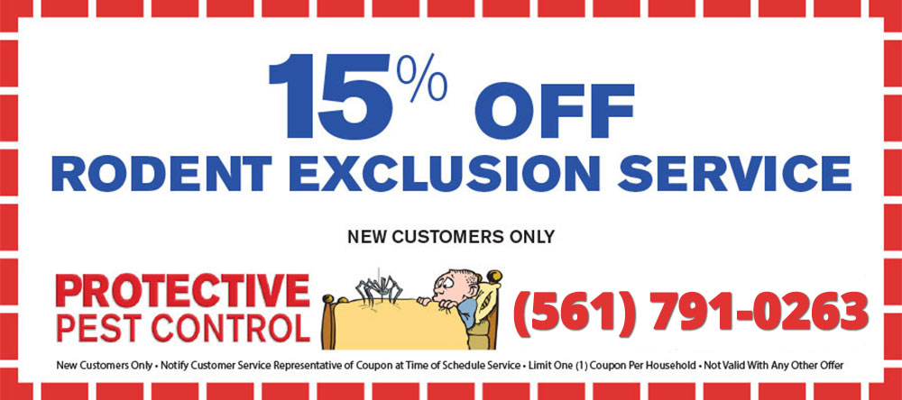 Rodent Exclusion Coupon